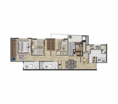Planta Final 03 - Alpha Home Residence