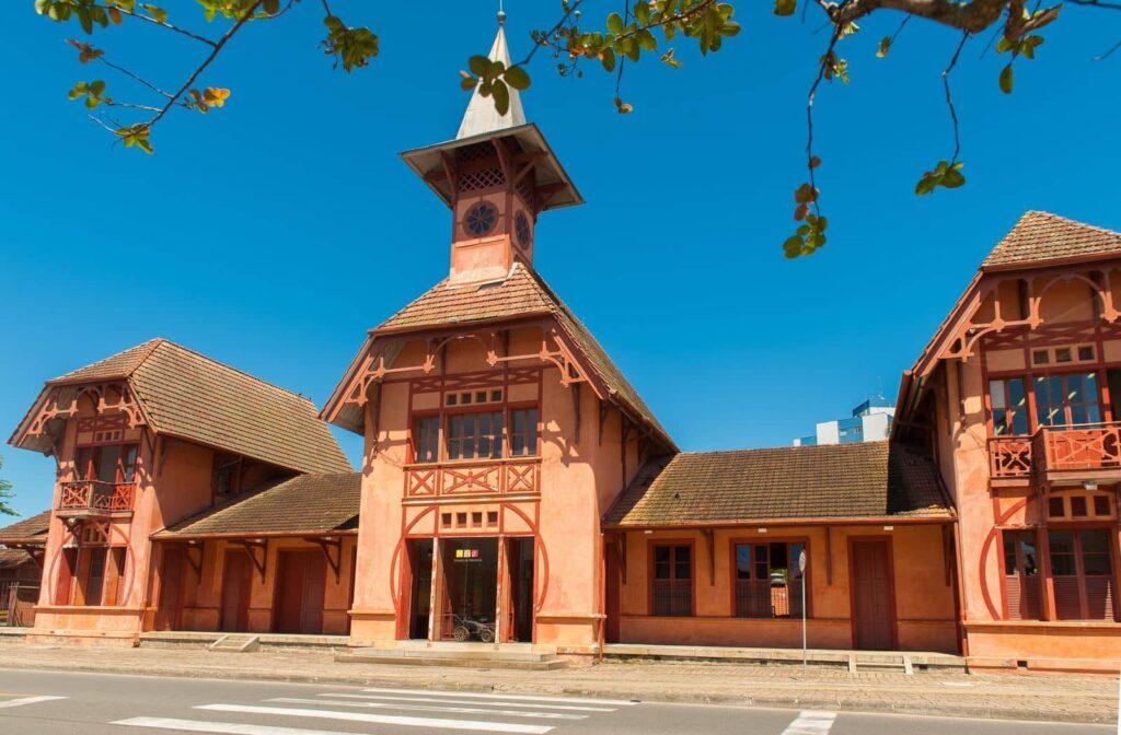 Foto da Estação Ferroviária de Joinville - Bairro Anita Garibaldi