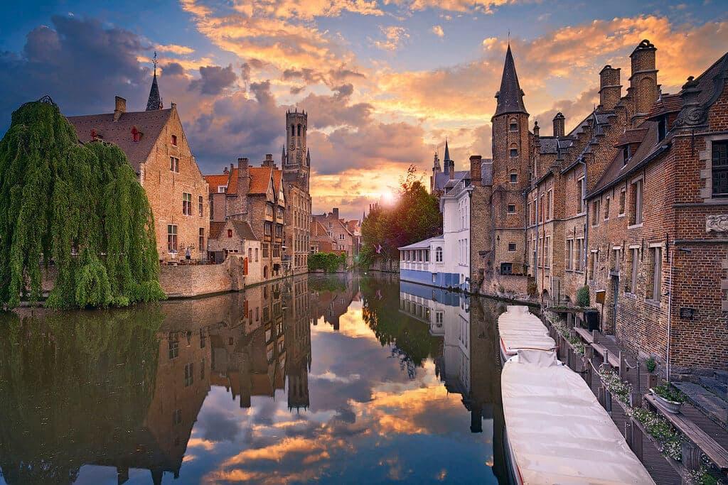 Destinos para Lua de Mel - Brugues - Bélgica