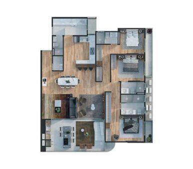 Planta Saint Antoni Residence - Final 01 e 02