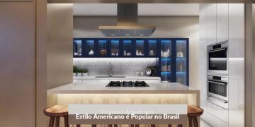 Construtora em Joinville - Cozinha Americana: por que este Estilo é tão Popular no Brasil?